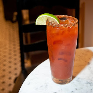 """El Marrano"" Michelada Cocktail"