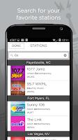 Screenshot of iRadioNow