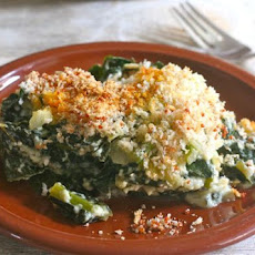 Tuscan Kale Gratin For Two