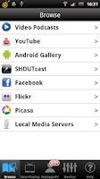 Screenshot of LG TV Media Player