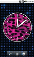 Screenshot of Big Pink Clocks - FREE