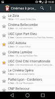 Screenshot of CinéTime
