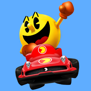Cover art PAC-MAN Kart Rally by Namco