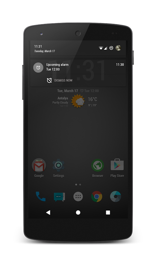 PitchBlack│S-Grey CM13/12 Screenshot 6