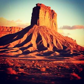 Beauty and Desalination  by Amy Brown - Landscapes Deserts ( desert, no where land, beautiful, southwest, rock formation )