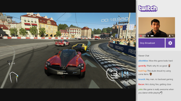 Twitch streaming heading to Xbox One just before Titanfall arrives