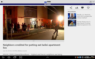Screenshot of Hawaii News Now