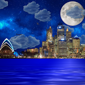 Night city from sea wallpaper APK for Bluestacks