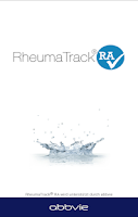 Screenshot of RheumaTrack® RA