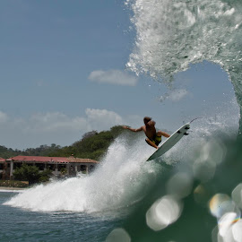 by Dalton Smith - Sports & Fitness Surfing ( water, action sports, surfing, awesome, waves, water photography, ocean, nicaragua, travel )