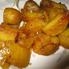 Potatoes With Mustard and Honey