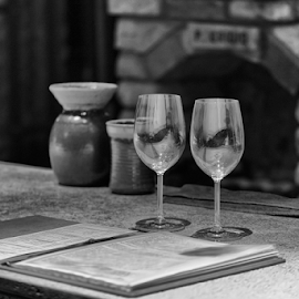 Tasting for Two by Philip Venable - Food & Drink Alcohol & Drinks ( wine, vintage, tasting, glass, winery )