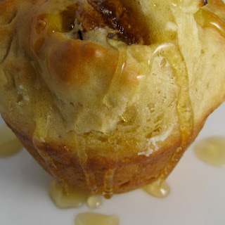 Goat-Cheese-and-Honey-Stuffed Fig Muffins