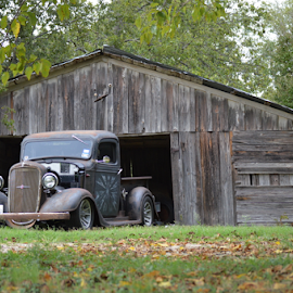 Barn Find by Benito Flores Jr - Transportation Automobiles