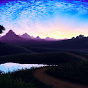 Live Wallpaper - Pond Ripples