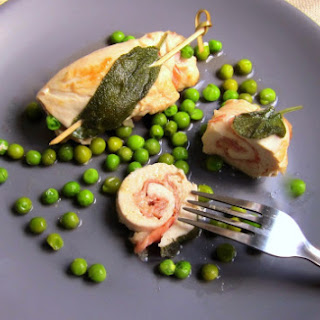 Chicken Breast Prosciutto Rolls - pressure cooker