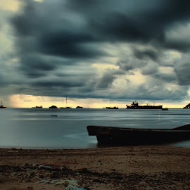 alone in the gray by Fajar Vandra - Landscapes Sunsets & Sunrises