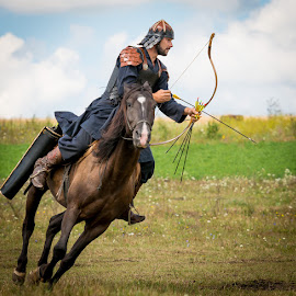Hungarian Archery on Horseback by Matthew Haines - Sports & Fitness Other Sports