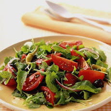 Arugula Salad with Tomatoes