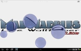 Screenshot of Mad Marbles Lite LWP