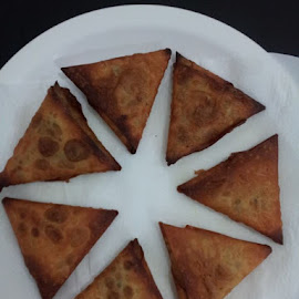 Samosa!! :) by Divya Dhaneesh - Food & Drink Cooking & Baking