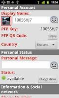 Screenshot of PTP