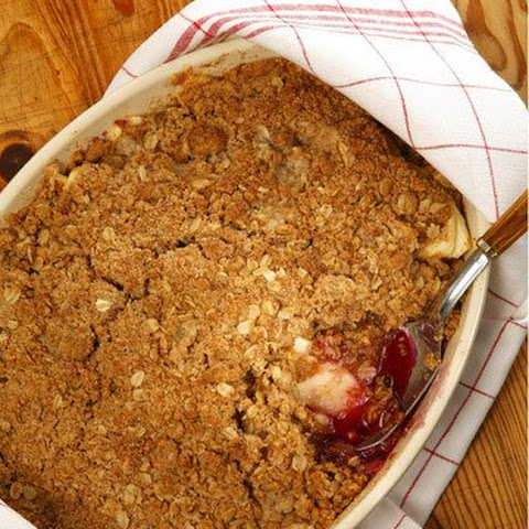 Apple-Blueberry Crisp