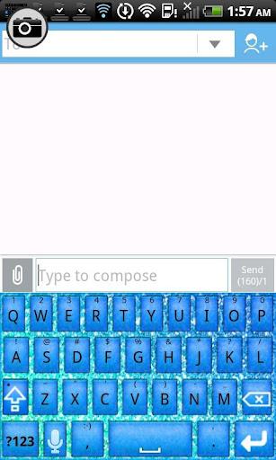 【免費個人化App】KB SKIN - Pastel Glitter Star5-APP點子