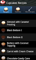 Screenshot of Cupcake Recipes