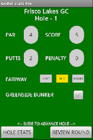 Screenshot of Golfer Stats Pro