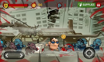 Screenshot of Dante Zomventure