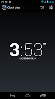 Screenshot of ClockPlus DayDream