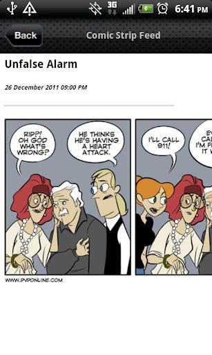 Comic Strip Feed