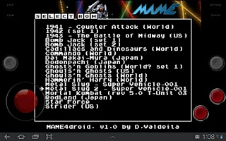 Screenshot of MAME4droid (0.37b5)