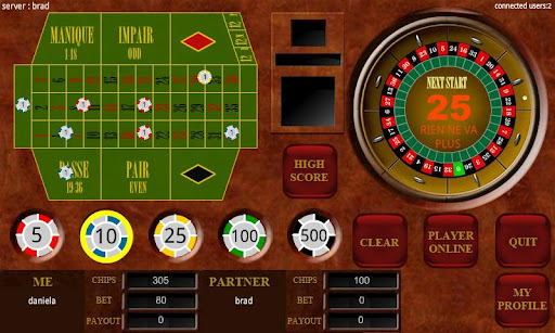 Roulette Multiplayer