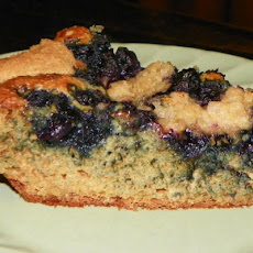 Blueberry Coffee Cake-You Won't Even Know That It's Healthy!