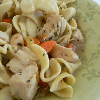 Easy Chicken Noodle Soup With Canned Chicken Recipes