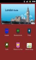 Screenshot of LONDON Guide