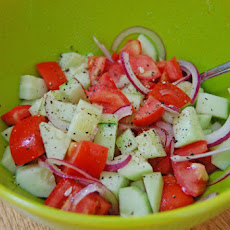 Cucumber and Tomato Salad