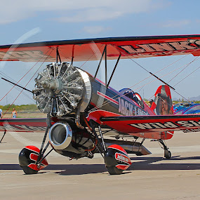 Screamin' Sasquatch by Dave . - Transportation Airplanes ( biplane, prop, jet )