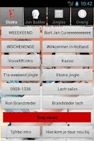 Screenshot of Ekstra Weekend Soundboard