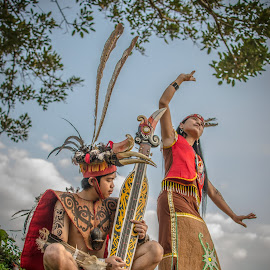 Dayak West Borneo by Arifin Noviyadi - Artistic Objects Clothing & Accessories (  )