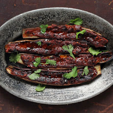 Barbecued Eggplant with Miso Glaze