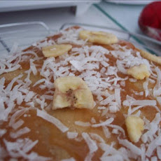 Low-fat Tropical Banana Cake