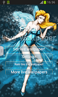 Screenshot of Fairy Live Wallpaper
