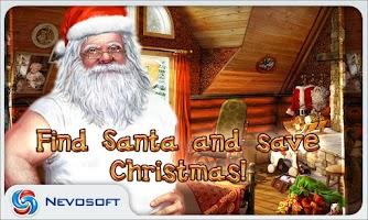 Screenshot of Christmasville: missing Santa