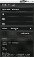 Screenshot of GCC - GeoCache Calculator