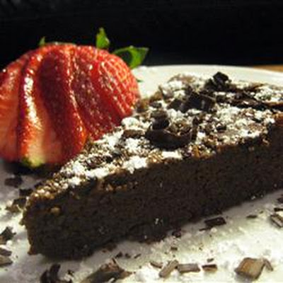 Garbanzo Bean Chocolate Cake (Gluten Free)