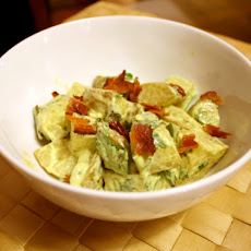 Roasted New Potato Salad with Poblano Mayo