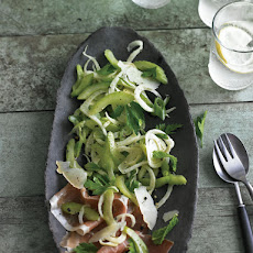 Celery, Parsley & Prosciutto Salad